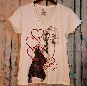 Marilyn Monroe Hollywood Legends tshirt women XL